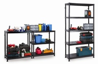 Modular Plastic Shelving: click to enlarge