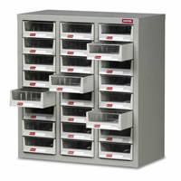 Topdrawer - Cabinets c/w 24 Drawers: click to enlarge