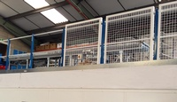 Mezzanine Guarding System: click to enlarge