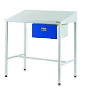 Team Leader Workstations with Single Drawer: click to enlarge