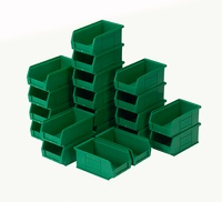 Topstore - TC2 Standard Colour Semi-Open Fronted Containers: click to enlarge