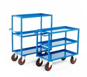 Heavy Duty Tray Trolleys - 350Kg Capacity
