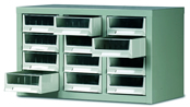 Topdrawer - Cabinets c/w 12 Drawers