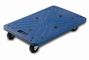 Blue Plastic Dolly - 100Kg Capacity
