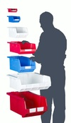 Topstore - NXT2 Semi-Open Fronted Stack & Nest Containers
