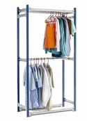 Toprax - Garment Hanging with 2 Hanging Rails