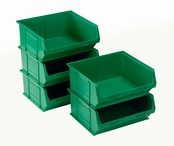 Topstore - TC6 Standard Colour Semi-Open Fronted Containers