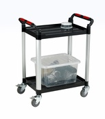 Utility Tray Trolleys - 2 Shelf