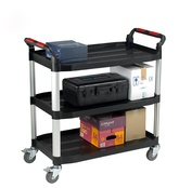 Utility Tray Trolleys - 3 Shelf