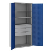 ToolStor Kitted Workshop Cupboards - Blue Doors