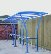 Tintagel Cycle Shelters - Off Centre Design